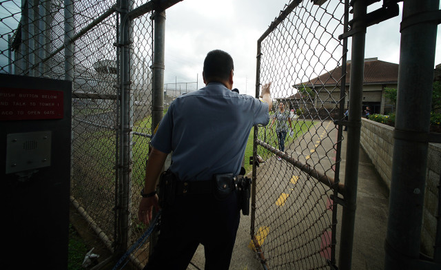 Oahu Community Correctional Center. 18 dec 2015. photograph Cory Lum/Civil Beat
