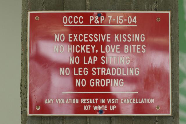 OCCC Oahu Community Correctional Center visitors area2