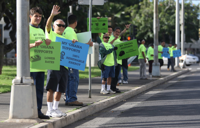 Energy issues in Hawaii -- especially the push for renewables -- are generating strong sentiment from many quarters.
