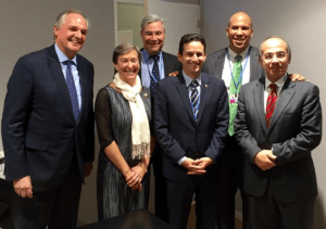 Schatz With Delegation at Climate Talks