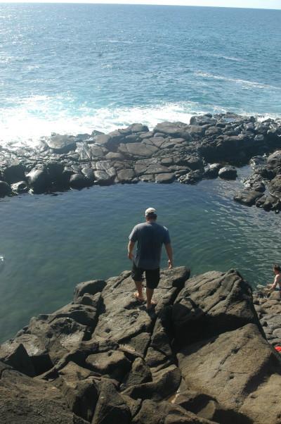 Queen's Bath on Kauai.
