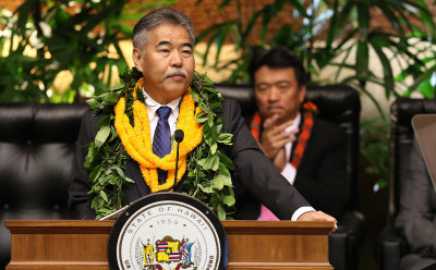 Governor David Ige addressed the issue of heat abatement in his state of the state address Monday.