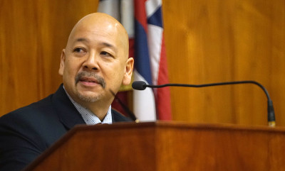 Honolulu City Council Chair Ernie Martin.