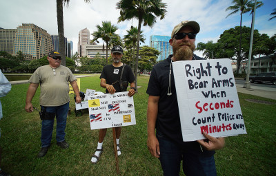 Gun Bills Advance In Hawaii Senate