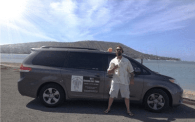 Ike's Hanauma Bay Tours is one of many companies that's licensed as a taxi service but promotes itself as a tour company.