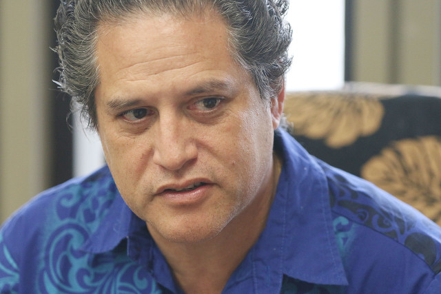 Sen. Kalani English voted against House Bill 2501 in recognition of his Hawaiian ancestry and longstanding injustice over Maui water rights.