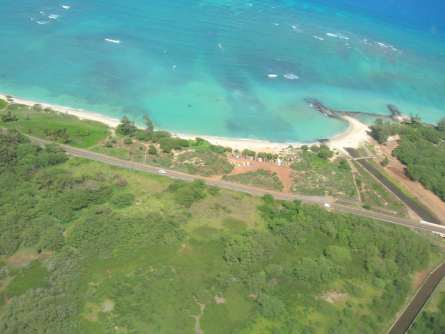 A kite surfer died Thursday after being pulled from waters off of Kanaha Beach Park on Maui.