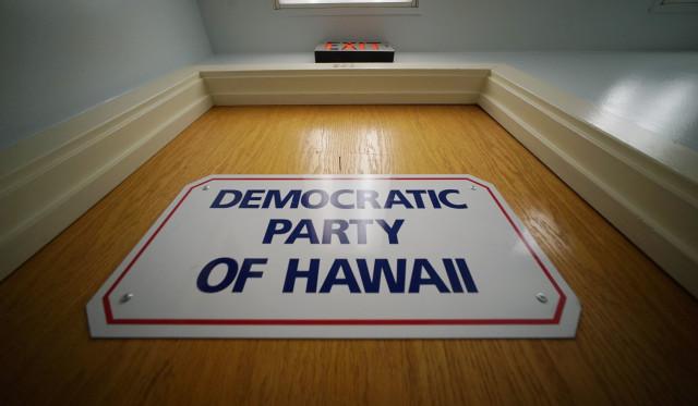 Democratic Party of Hawaii office Ward Avenue.