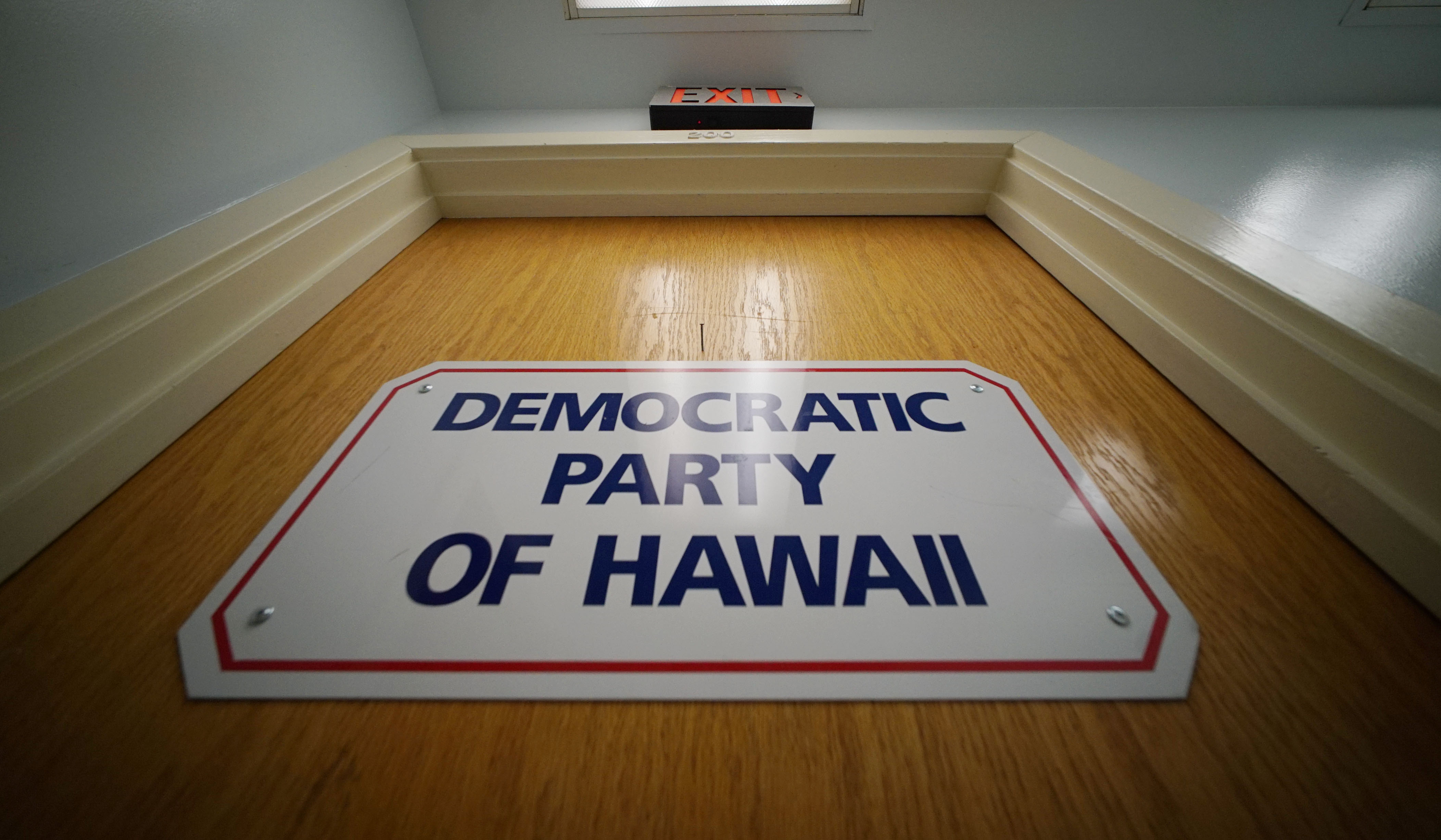 Democratic Party of Hawaii office Ward Avenue.