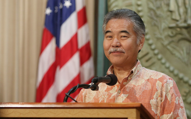 Governor David Ige press conference DC trip4