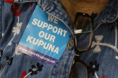 Helping Those Who Help Their Kupuna: State Aid Program Takes Shape