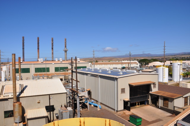 The Port Allen electrical facility at the Kauai Island Utility Cooperative includes diesel, steam turbine and combustion turbine generators.