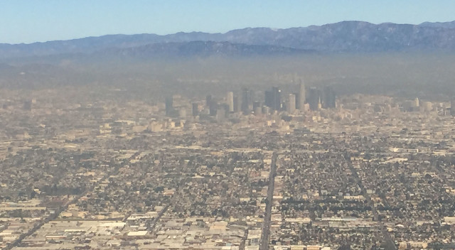 Los Angeles smog global warming air pollution
