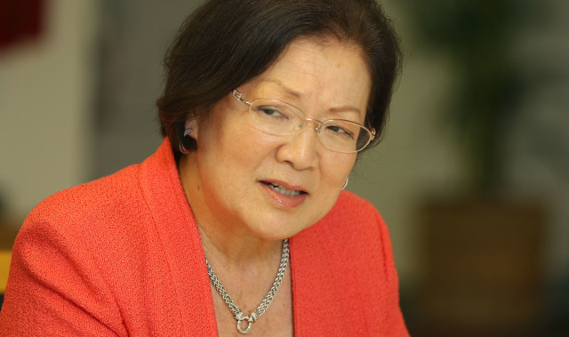Senator Mazie Hirono editorial board. 24 march 2016.