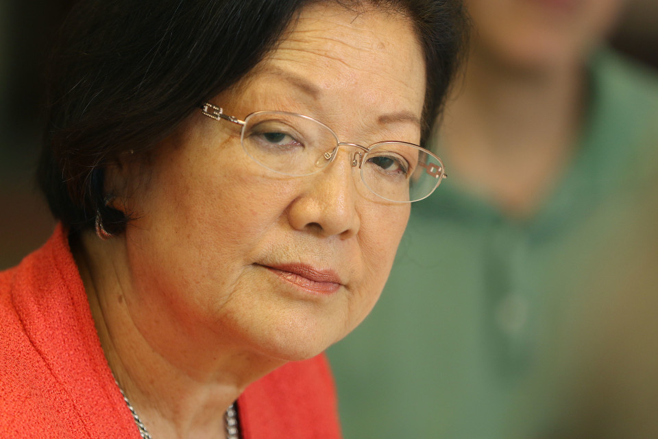 Hirono Says She's 'Fond Of Bernie,' But Solid In Her Support of Clinton