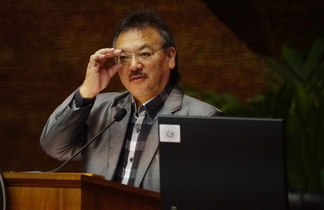 Vice Speaker John Mizuno legislature action