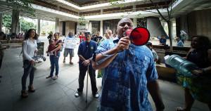 Noisy Start For Legislators' Busy Tuesday