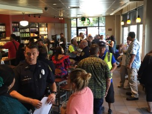 Cops, Coffee and Conversation: HPD Reaches Out To Citizens