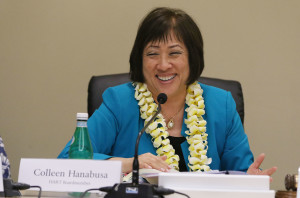 Hanabusa Takes Over As Chairwoman Of Honolulu Rail Board