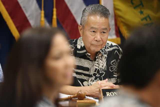 HPD Commission Chair Ronald Taketa. 7 april 2016.