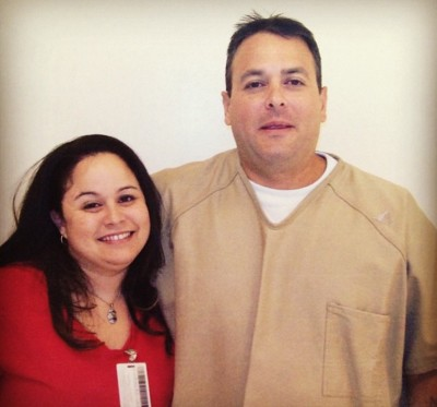 Kealiiokalani Meheula, Mahealani Meheula's nephew, with his sister Kainani, in October 2015. He has been held at the Saguaro Correctional Center since 2007.