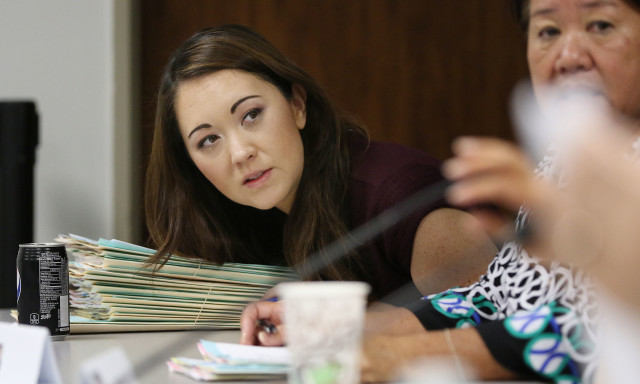House Senate conference committee on Health Rep Beth Fukumoto Chang. 29 april 2016.