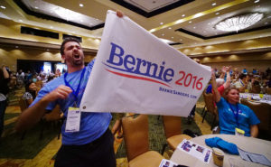 Bernie's Backers Prevail At Democratic State Convention