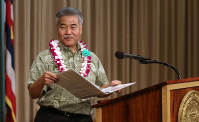 Governor Ige Grades Hawaii Lawmakers' Work This Session