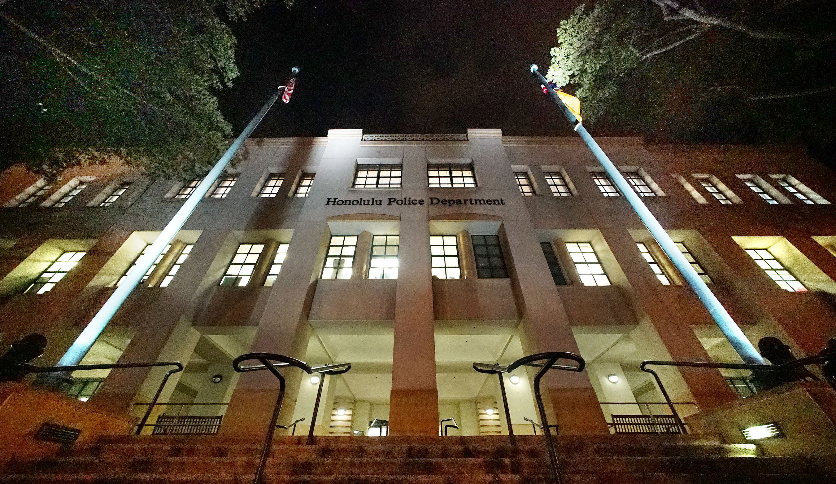 HPD Honolulu Police Department Building1. 5 may 2016.