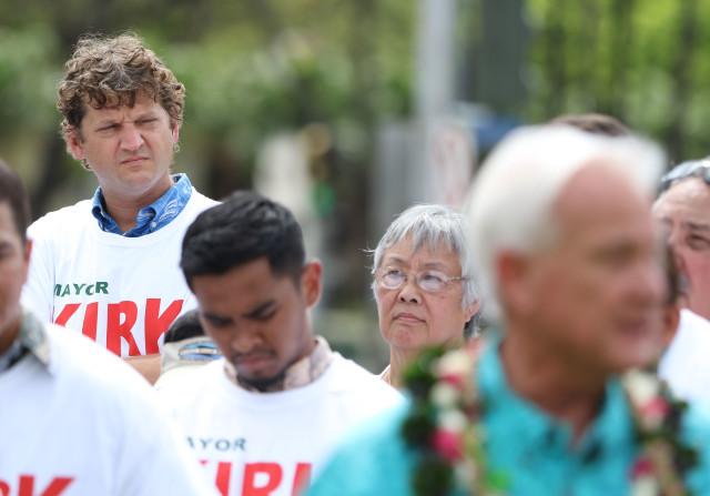 Jesse Broder Van Dyke Mayor Caldwell supporter2. 4 may 2016