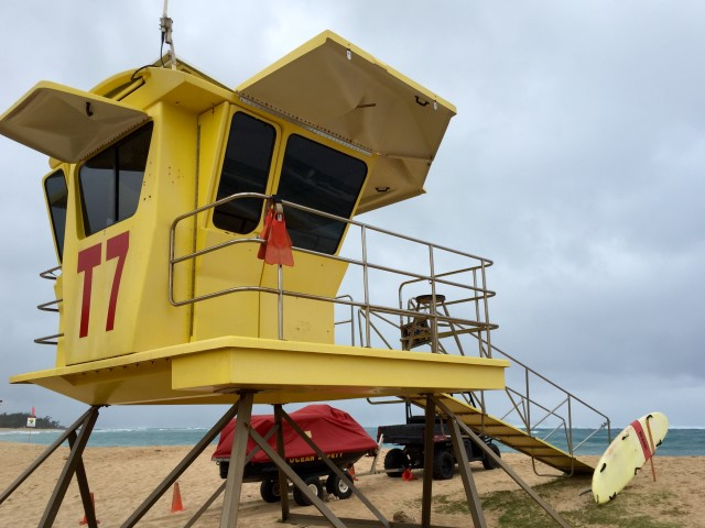 Maui lifeguards made 438 rescues last year at beaches around the island, such as Baldwin Beach Park, seen here in March.