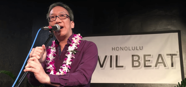 Gene Park at the Hawaii Storytellers