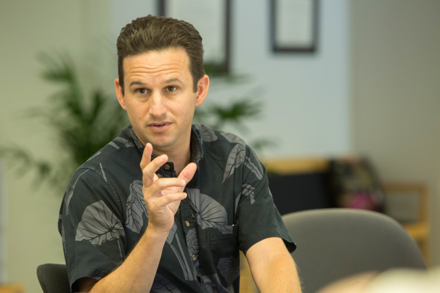 Senator Brian Schatz Editorial Board, Thursday May 5, 2016.