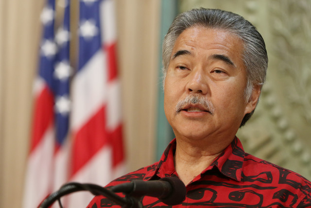 Governor David Ige announces veto list on deadline1. 27 june 2016