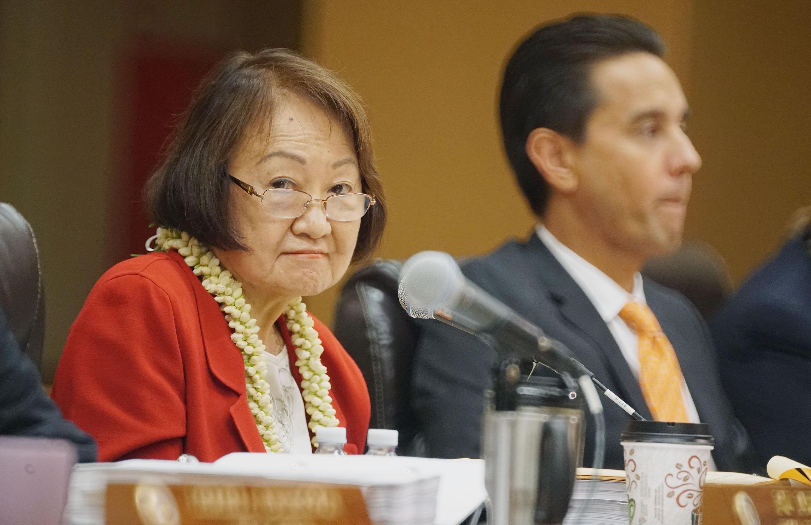 Honolulu City Council member Ann Kobayashi. 1 june 2016