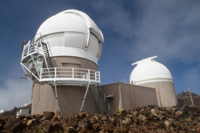 Pan-STARRS PS1 and PS2 Observatories are located atop Haleakala, on Maui.