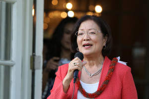 Hirono Campaign Has $558K On Hand