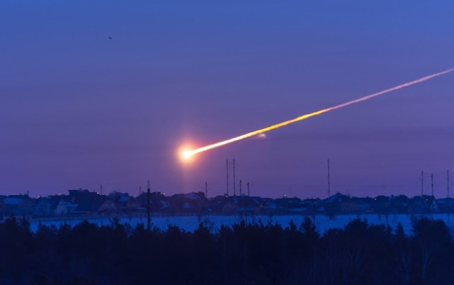 The Chelyabinsk meteor exploded in the skies above Russia on Feb. 15, 2013, damaging more than 3,000 building.