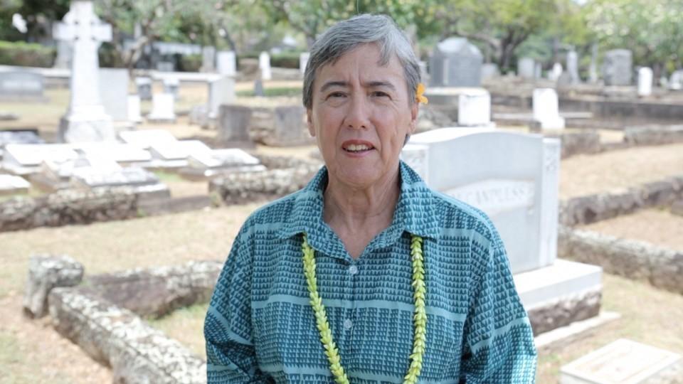 Nanette Napoleon: Historian at Oahu Cemetery