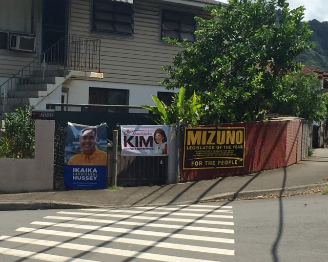 kalihi campaign posters 2016