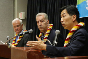 In Honolulu Mayoral Forum, It's All About The Rail Project