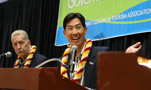 Honolulu Mayor Debate with Mayor Caldwell, Peter Carlisle andn Charles Djou. 14 july 2016