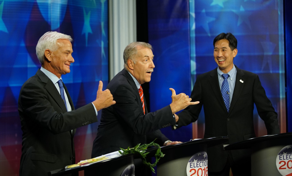 A Fast-Track Look At Thursday's Mayoral Debate