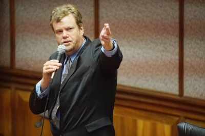 Rep Angus McKelvey House Floor1. 20 july 2016