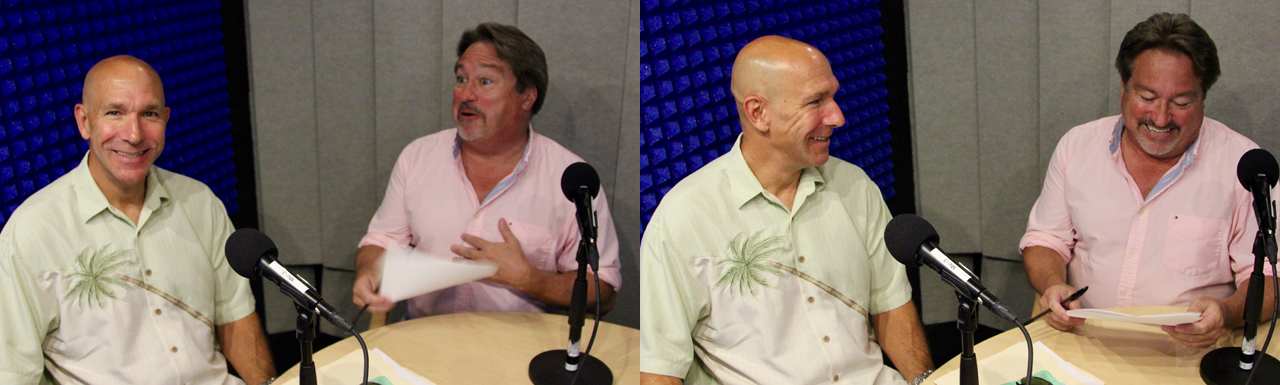 Larry Friedman and Chad Blair
