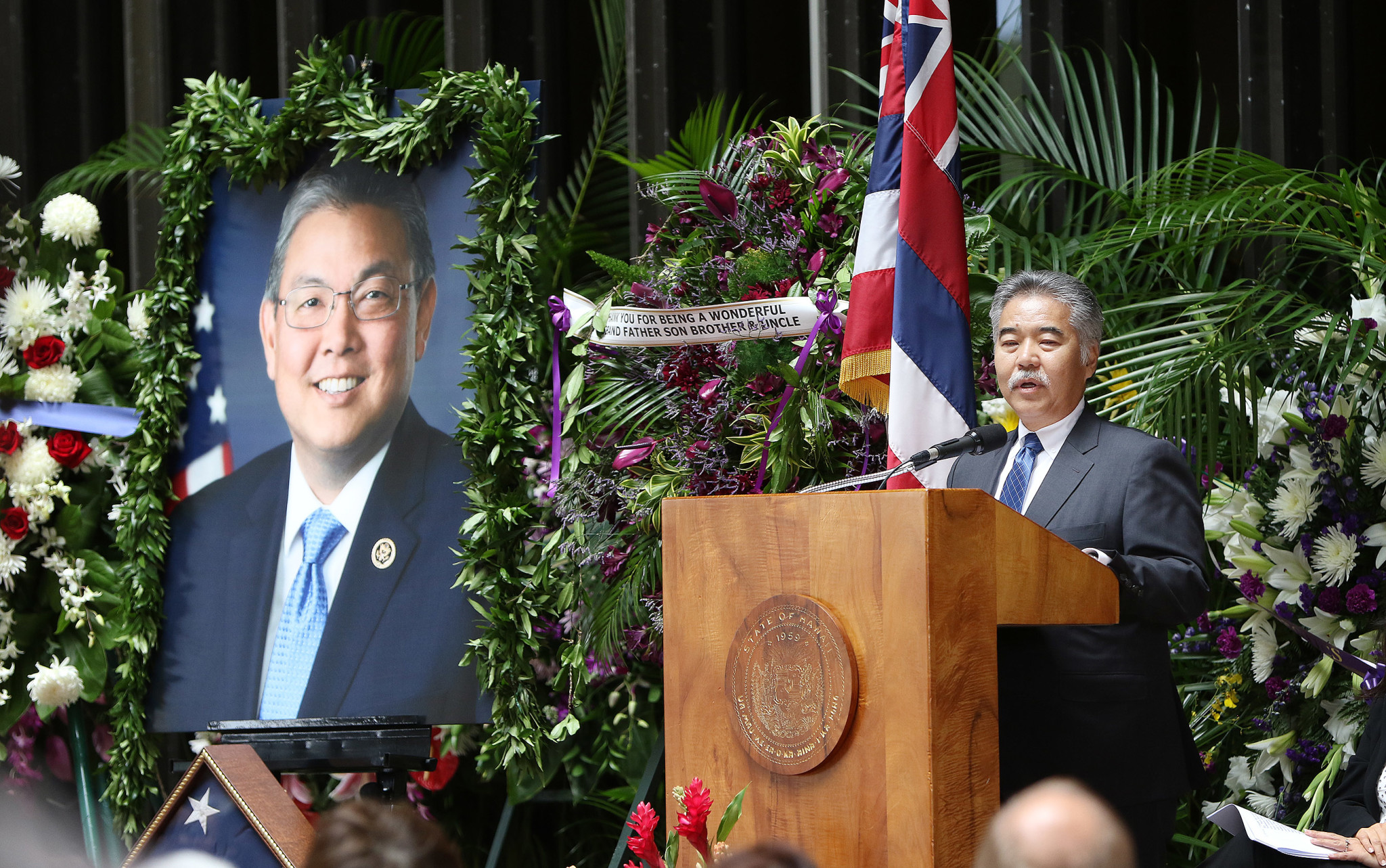 <p>Gov. David Ige recounted his friendship with Takai. &#8220;It&#8217;s so difficult for me to accept he is no longer with us. I have truly lost a dear friend and colleague.&#8221;</p>