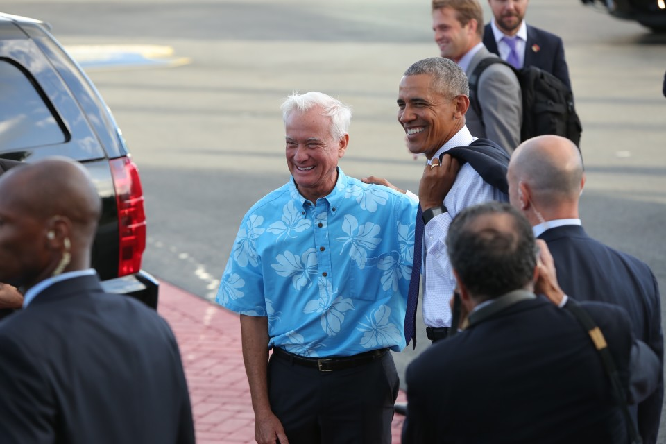Obama In Honolulu: 'No Nation Is Immune To A Changing Climate'