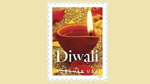 A Postage Stamp For Diwali
