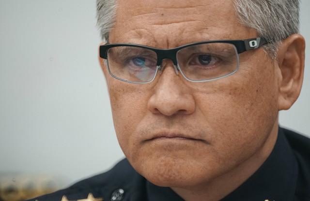 HPD Chief Louis Kealoha closeup. 7 sept 2016