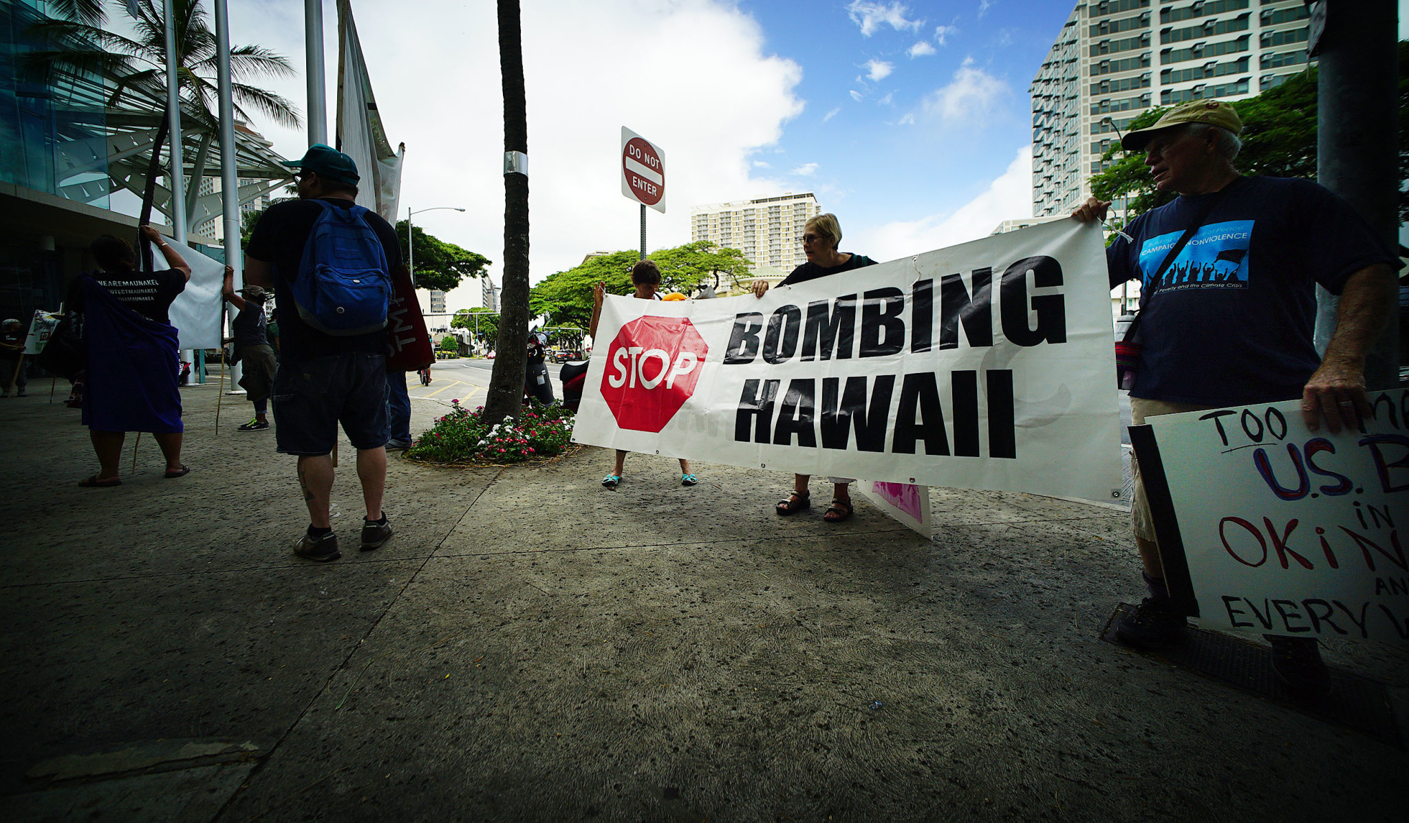It's just a photo of Dynamite Positive Protest Signs
